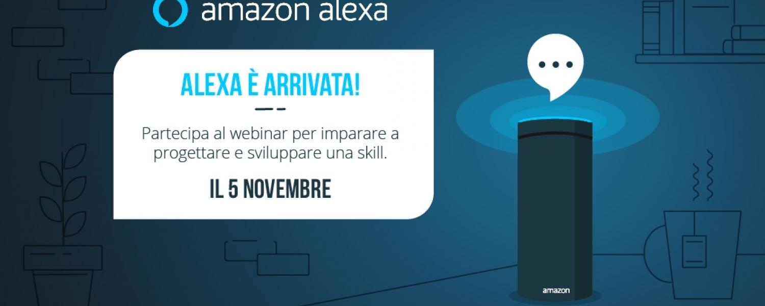 Amazon Alexa arriva in Italia